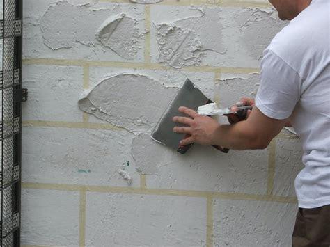 mur en fausse exterieur r 233 aliser de la fausse en enduit galerie photos d article 11 24
