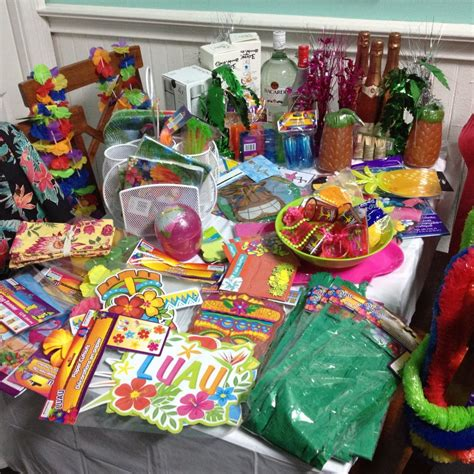 food ideas for a luau themed party