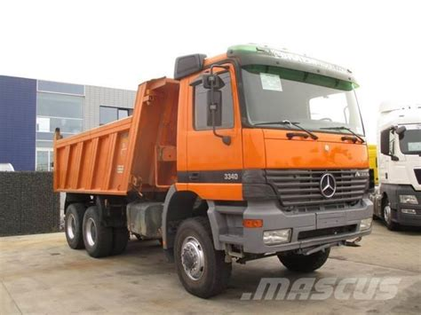 Mercedes 6x6 Usa by Used Mercedes Actros 3340 Ak 6x6 Dump Trucks Year