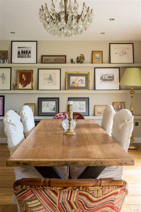 salas de jantar  mesa rustica  voce  gosta de