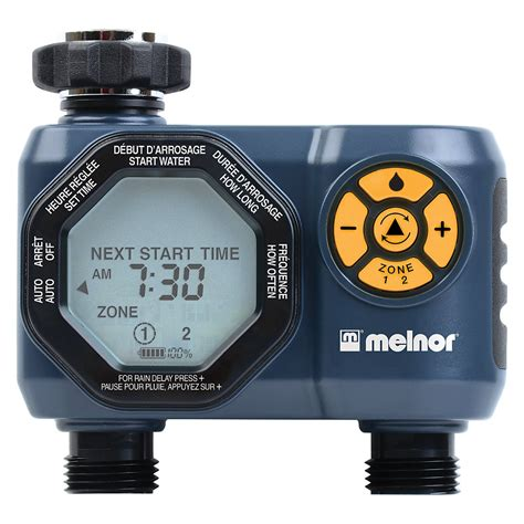 melnor  zone automatic water timer  home depot canada