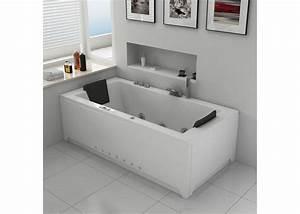 Baignoire Pour 2 : baignoire baln o rectangulaire 32 jets baignoire ~ Edinachiropracticcenter.com Idées de Décoration