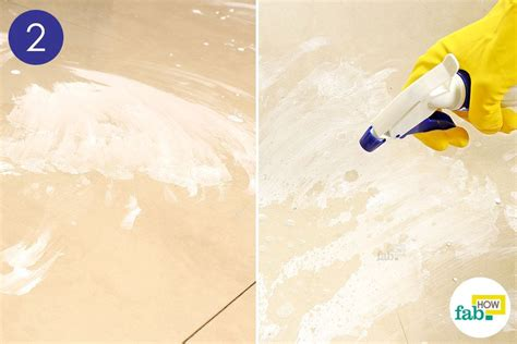 how to clean tile floor with vinegar and baking soda