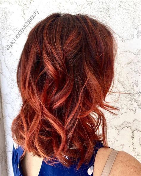 belles couleurs cheveux tendance  coiffure simple