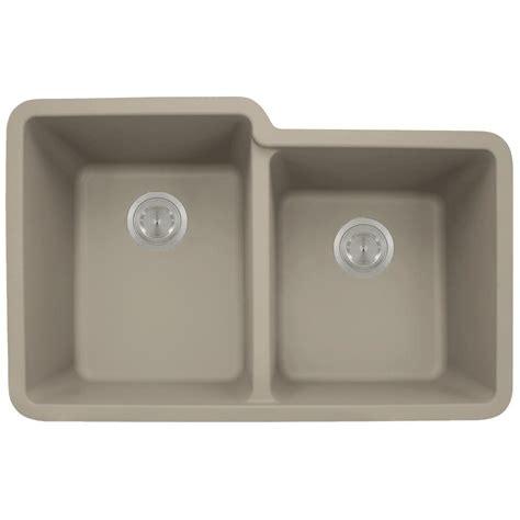 mr direct kitchen sinks reviews mr direct undermount granite composite 32 5 in 0 7049