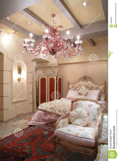 bedroom  vintage style stock photo image  coverlet