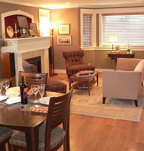 Small living room for home design for Small living dining room
