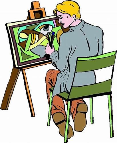 Painter Clip Clipart Painting Artist Paint Cliparts