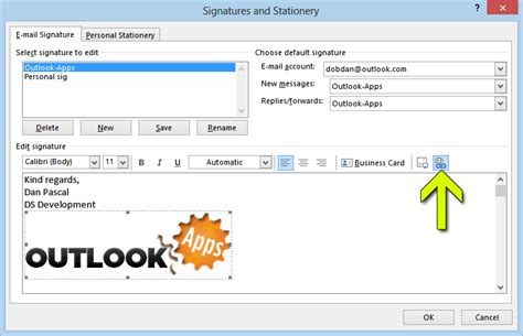 Office 365 Outlook Hyperlink by How To Add Image Email Signature In Outlook Web App