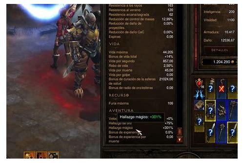 items diablo 1 descargar mf