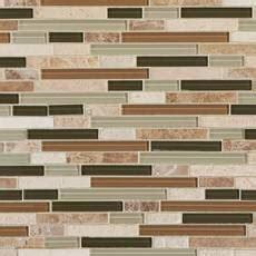 bliss bamboo linear mosaic light beige decoratives floor decor