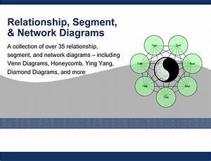 Relationship  Segment   U0026 Network Diagram Powerpoint