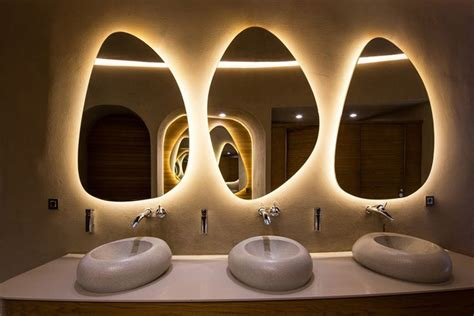 Lighting : Seductive Bathroom Vanity With Lights Design Ideas