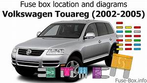 Fuse Box Location And Diagrams  Volkswagen Touareg  2002-2005
