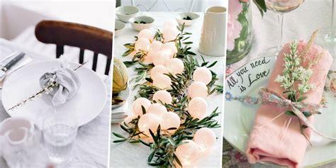deco de table pour  mariage diy marie claire