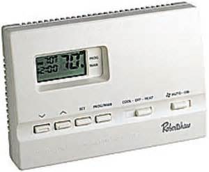 Robertshaw 9600 Programmable Thermostat Manual