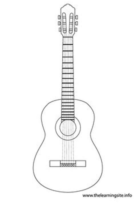 guitar pick pattern   printable outline  crafts