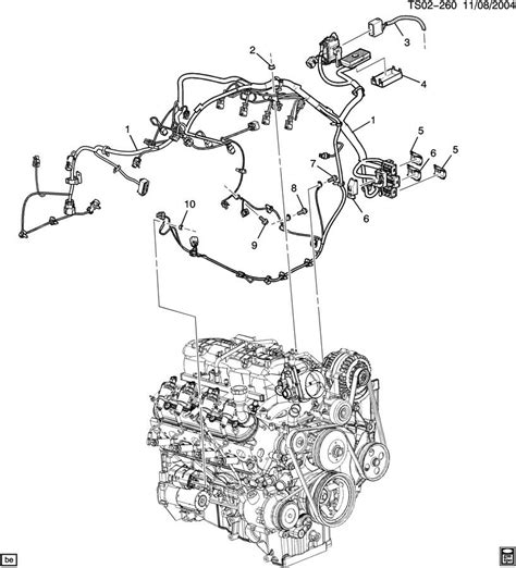 2003 Chevy Ssr Wiring Diagram by 2003 Chevy Trailblazer Engine Diagram Automotive Parts