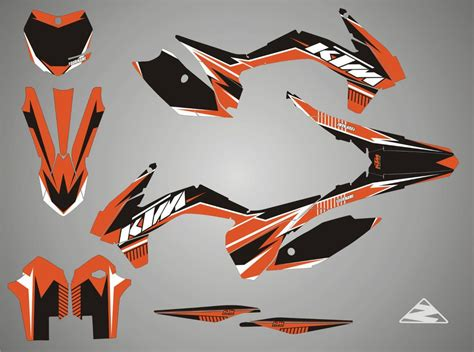 ktm stickers race stickers decals helmet decal motorcycle graphics tuning mxgrafika lv