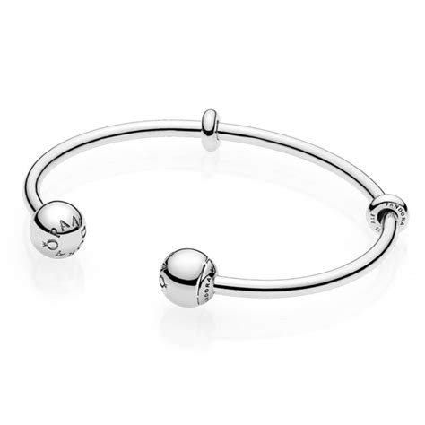 Pandora Moments Silver Open Bangle, Pandora Logo Caps. White Bands. Anklet Shopping. Gold Bracelet. Ornament Necklace. Anklets For Women. The Jewelry Store. Cuff Bracelet. Solid Gold Ankle Bracelets