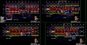 Hostels Dwg Plan For Autocad  U2013 Designs Cad