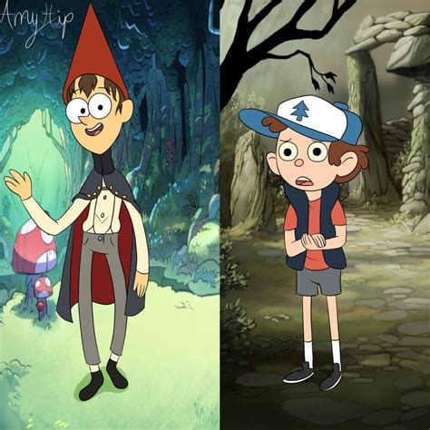 Crossover Styles Dipper and Wirt by Amyhip on DeviantArt