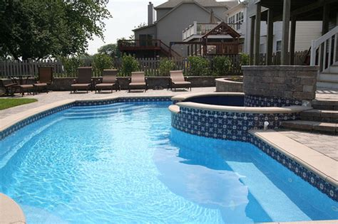 tiles for around swimming pools swimming pool tile choices and options signature fiberglass pools chicago swimming pool