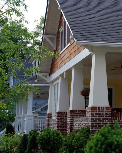 front porch elements  craftsman bungalows craftsman