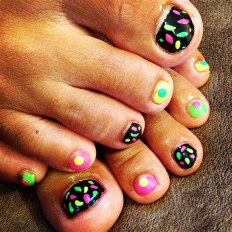 black toe nail art designs ideas design trends