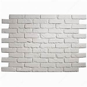 Brique De Parement Blanche : brique gb blanche quincaillerie richelieu ~ Nature-et-papiers.com Idées de Décoration