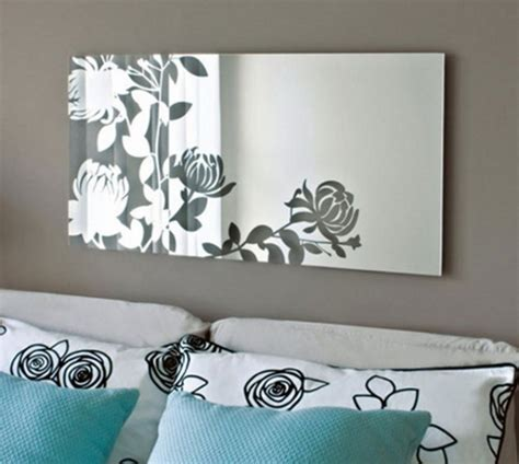 unique  stunning wall mirror designs  living room