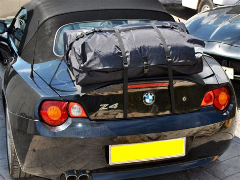 bmw  roadster luggage rack  straps  clamps  paint