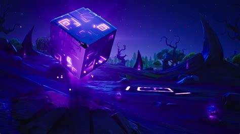fortnite le cube  disparu apres  evenement unique