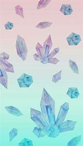 cute trippy crystal wallpaper phone wallpaper cute ...