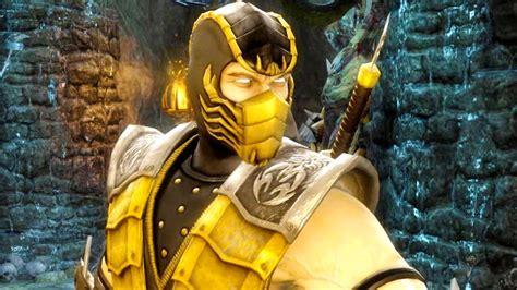 Mortal Kombat 9 Scorpion Split Decision Fatality On All