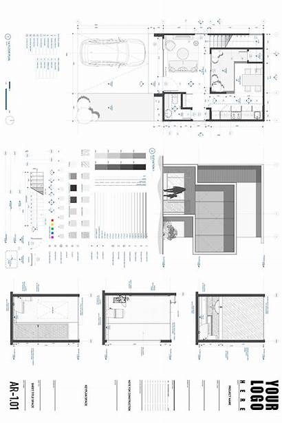 Autocad Template Architecture Drawing 30x40 Studio Templates