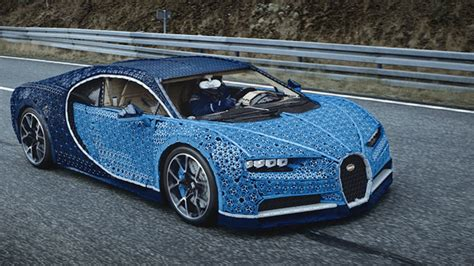 But with lego seats it's probably not as comfortable as the real thing. Marvel At This Drivable Bugatti Chiron Built From a Million Pieces of Lego Technic and 2,304 ...