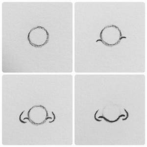easy nose step by step | Drawing | Pinterest | Easy ...