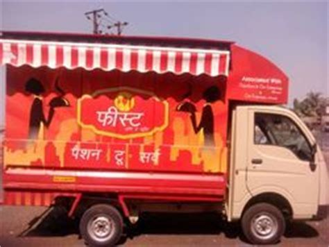 Tata Ace Backgrounds by Food Truck Mobile Kitchen Price Manufacturers
