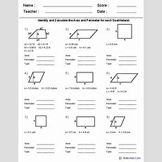 Area And Perimeter Worksheets  5th Grade (make Your Own Worksheetsvery Good!)  Places To
