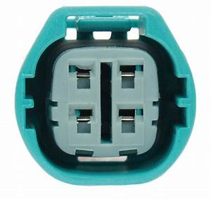 Brand New Alternator Plug Connector Suits 4 Pin Square