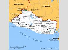 El Salvador America centrale Americhe Paesi Home