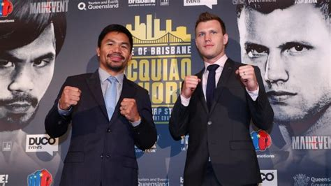 Manny Pacquiao v Jeff Horn: Pac Man's adviser says crowd ...