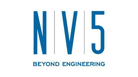 NV5 logo | Construction logo, Engineering Logos