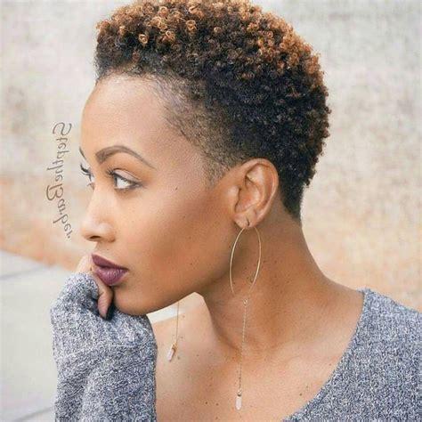 2020 Latest Short Haircuts For Natural Hair Black Women