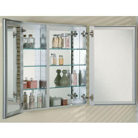 Medicine Cabinets   Broadway Double Door Recessed Medicine