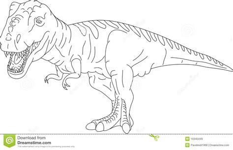 Rex Di T Illustrazione Vettoriale Illustrazione Di