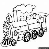 Locomotive Steam Coloring Train Sheets Colouring Drawing sketch template