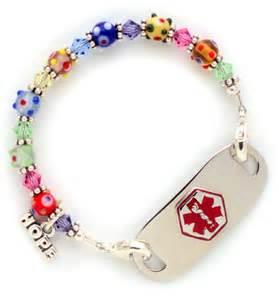 Medical Alert Bracelet Kids