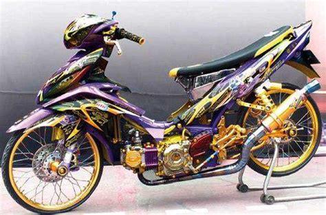 Gambar Modifikasi Jupiter Z 2007 by Modifikasi Jupiter Z Konsep Racing Thailook Road Race